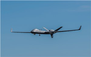 GA-ASI Conducts 1st Flight Test from Upgraded FTTC