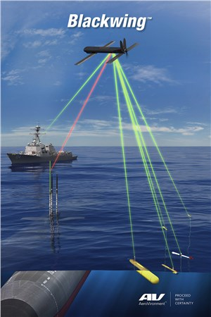 US Navy Awards AeroVironment $2.5 M Contract for Continuation and Expansion of Blackwing UAS Program