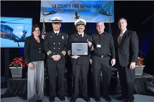 Sikorsky Delivers 2 S-70i Black Hawk Helicopters to the Los Angeles County Fire Department
