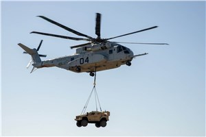 CH-53K Demonstrates Vehicle Lift