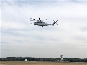 Sikorsky's CH-53K Heavy Lift Helicopter Makes Historic First Flight in Germany