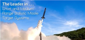 Kratos Ballistic Missile Target Supports Terminal High Altitude Area Defense System Exercise