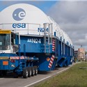 The Ariane 5 for Arianespace's Next Galileo Mission is at the Spaceport