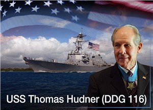 Future USS Thomas Hudner to be Commissioned in Boston