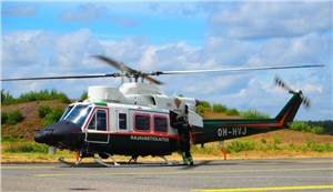 Patria Developed Major Changes to Agusta Bell 412EP Certified by EASA