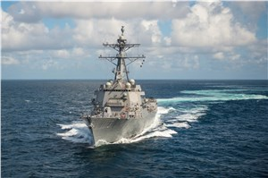 Aegis Combat System Demos Success During At-Sea Test Against Medium Range Ballistic Missile