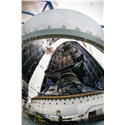 1st LM-Built GPS III Satellite Encapsulated for Dec. 18 Launch