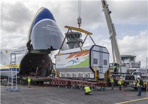 Both Satellites for Year-opening Ariane 5 Launch Are Now in French Guiana