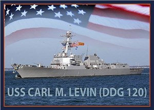 Keel Laid for Future USS Carl M. Levin