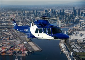 Leonardo announces 3 AW139 helicopters for Victoria Police of Australia