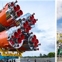 Soyuz Receives the 4O3b Satellite Passengers for Arianespace's Launch This Week
