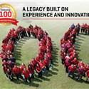 Harris Celebrates Production of 100th Unfurlable Satellite Mesh Reflector
