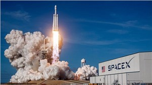 SpaceX Falcon Heavy Rocket Launched 12 Terma Star Trackers