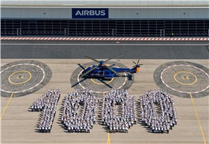 Airbus Delivers 1,000th Super Puma Helicopter