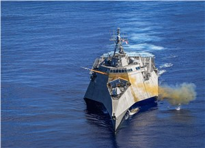 LCS Successfully Launches Naval Strike Missile