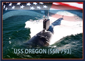 Navy to Christen Submarine Oregon