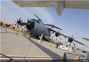 "A ""Heavy-lift"" Appearance for Airbus' A400M at the Dubai Airshow"