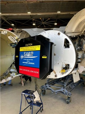NGC AN/APG-83 SABR Radar Achieves Initial Installation Milestone for ANG F-16s