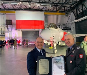 USAFE welcomes Poland to European F-35 User's Group