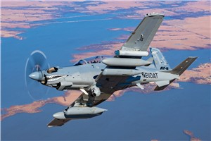 Textron Aviation Defense Announces $70.2M USAF Contract Award for 2 Beechcraft AT-6 Wolverine Aircraft, Training and Support Services