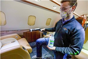 Constant Aviation Applies MicroShield 360 Antimicrobial Shield to 250 Aircraft in Two Weeks