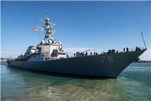 Two US Destroyers Deploy as US 6th Fleet Remains Vigilant