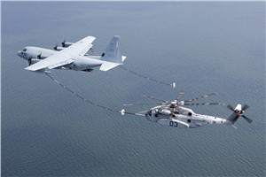 CH-53K Successful in Air Refueling tests