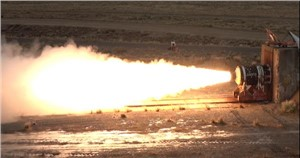 Aerojet Rocketdyne Successfully Tests Advanced Large Solid Rocket Motor