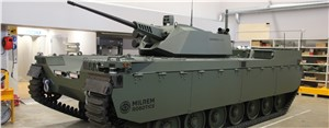 Milrem Robotics Revealed Type-X RCV With John Cockerill CPWS II Turret