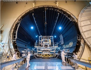 1st Modernized LM 2100 SBIRS Missile Warning Satellite Completes Thermal Vacuum Testing