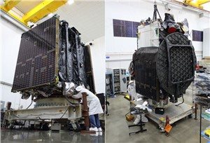 NGC's 2nd Mission Extension Vehicle and Galaxy 30 Satellite Begin Launch Preparations in French Guiana