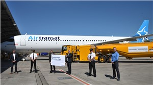 AerCap, Air Transat and Airbus Celebrate Milestone A321LR Sustainable Aviation Fuel Delivery Flight