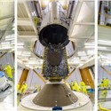 Ariane 5 is Fully Assembled for Arianespace's July 28 Launch With Galaxy 30, MEV-2 and BSAT-4b