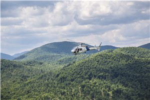 AHI Delivers First of 16 Advanced Law Enforcement H125 Helicopters to U.S. CBP
