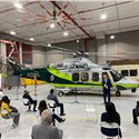 Leonardo: MDFR Upgrades Helicopter Fleet With Delivery of 1st AW139 Helicopter