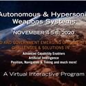 Autonomous & Hypersonic Weapons Systems Virtual Symposium
