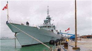 BAE Delivers Warship Support to HMCS Toronto