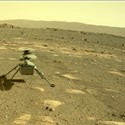 NASA's Mars Helicopter Survives 1st Cold Martian Night on Its Own