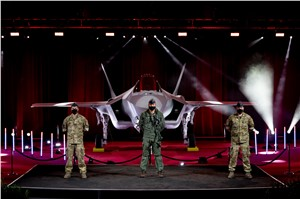 LM and Royal Danish AF Celebrate Debut of 1st Danish F-35 Aircraft